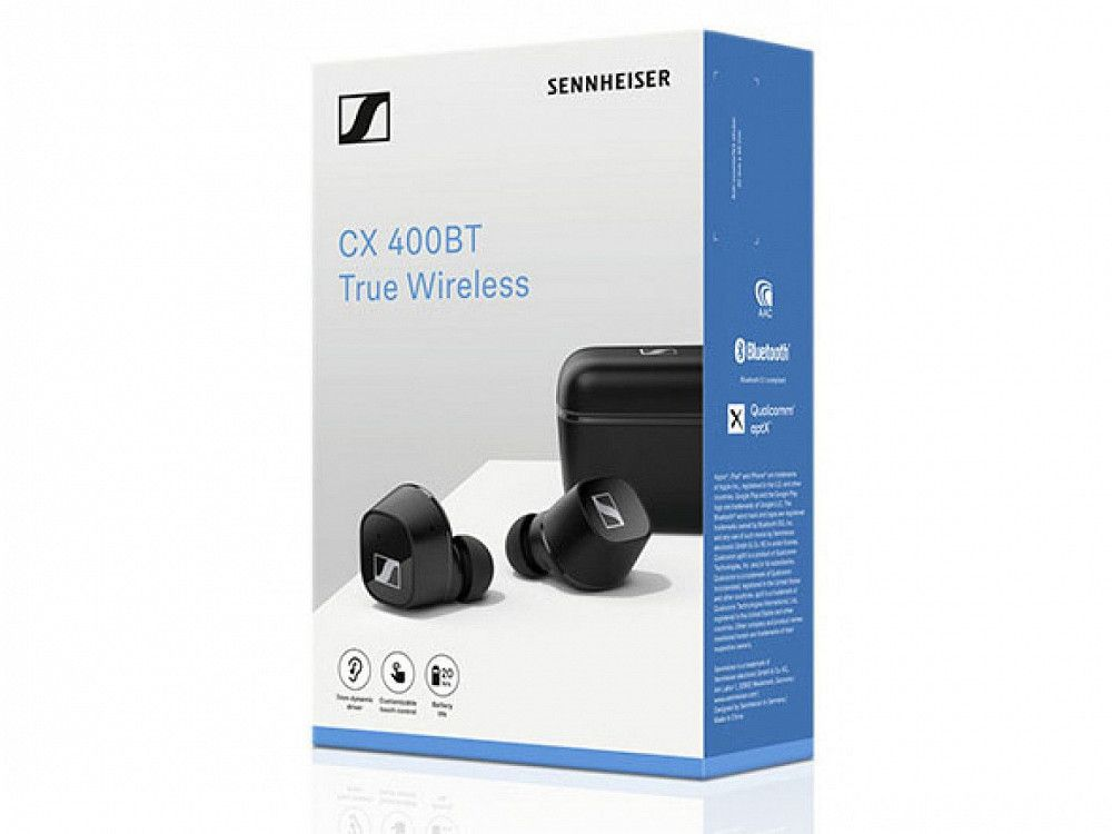 CX 400BT True Wireless Black 508900